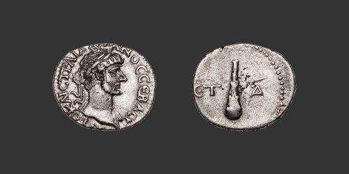 Odysseus Numismatique Monnaies Romaines Coloniales CÉSARÉE DE CAPPADOCE - HADRIEN • Hémidrachme