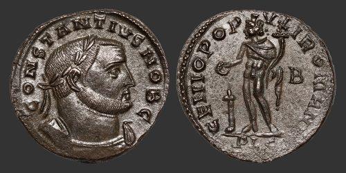 Odysseus Numismatique Monnaies Romaines CONSTANCE Ier CHLORE • Follis