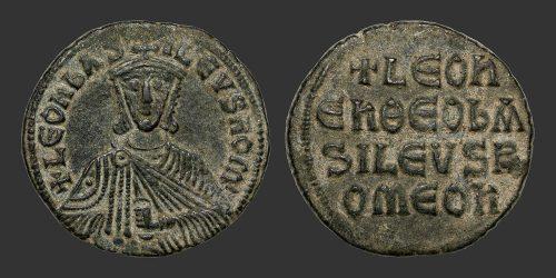 Odysseus Numismatique Monnaies Byzantines CONSTANTINOPLE - LÉON VI • Follis