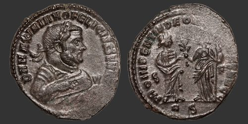 Odysseus Numismatique Monnaies Romaines MAXIMIEN HERCULE • Follis