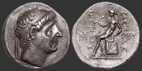 Odysseus Numismatique Monnaies Grecques SÉLEUCIDES – ANTIOCHOS Ier SÔTER • Tétradrachme