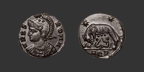 Odysseus Numismatique Monnaies Romaines CONSTANTIN Ier - URBS ROMA • Nummus