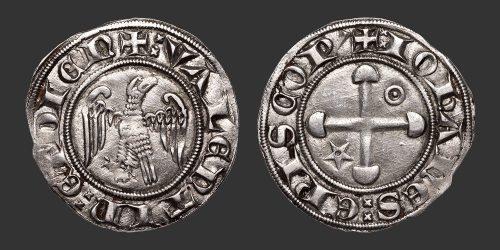 Odysseus Numismatique Monnaies Féodales VALENCE - JEAN DE GENÈVE • Gros