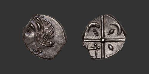 Odysseus Numismatique Monnaies Gauloises VOLQUES TECTOSAGES • Drachme