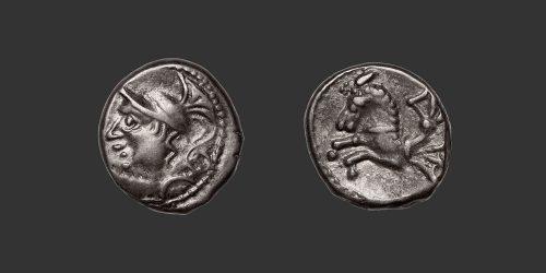 Odysseus Numismatique Monnaies Gauloises ALLOBROGES • Quinaire