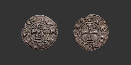 Odysseus Numismatique Monnaies Féodales FORCALQUIER - GUILLAUME V • Obole