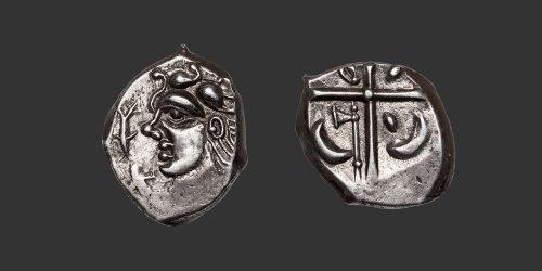 """Odysseus Numismatique Monnaies Gauloises VOLQUES TECTOSAGES • Drachme """"à l'Uraeus"""""""