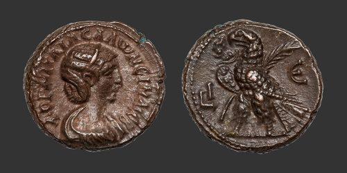 Odysseus Numismatique Monnaies Romaines Coloniales ALEXANDRIE - SALONINE • Tétradrachme