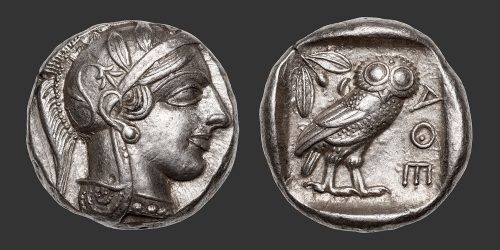Odysseus Numismatique Monnaies Grecques ATTIQUE - ATHÈNES • Tétradrachme