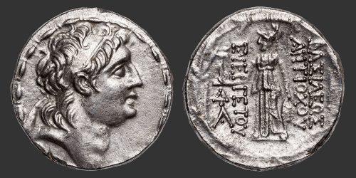 Odysseus Numismatique Monnaies Grecques EMPIRE SÉLEUCIDES - ANTIOCHOS VII • Tétradrachme