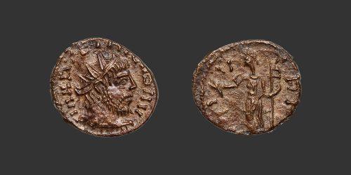Odysseus Numismatique Monnaies Romaines FRAPPE BARBARE - TÉTRICUS Ier • Antoninien
