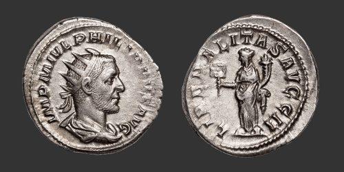 Odysseus Numismatique Monnaies Romaines PHILIPPE Ier • Antoninien