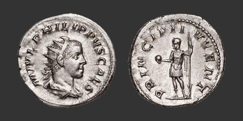 Odysseus Numismatique Monnaies Romaines PHILIPPE II • Antoninien