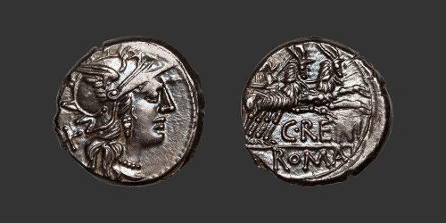 Odysseus Numismatique Monnaies Romaines République RENIA - C. RENIUS • Denier