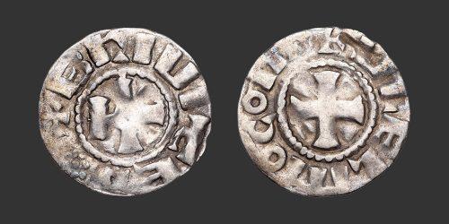 Odysseus Numismatique Monnaies Féodales BRIOUDE - GUILLAUME II • Denier