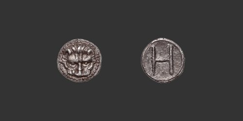 Odysseus Numismatique Monnaies Grecques BRUTTIUM - RHEGION • Hémilitron