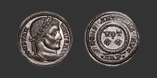 Odysseus Numismatique Monnaies Romaines CONSTANTIN Ier LE GRAND • Nummus