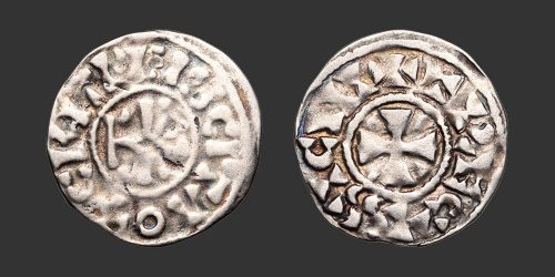 Odysseus Numismatique Monnaies Féodales CRÉPY & TROYES • Denier
