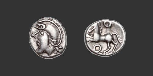 Odysseus Numismatique Monnaies Gauloises ÉDUENS • Quinaire