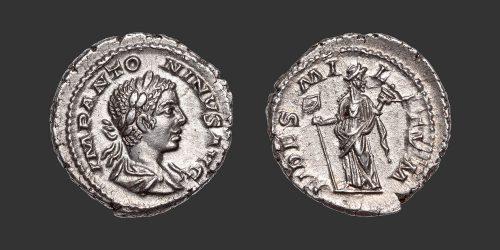 Odysseus Numismatique Monnaies Romaines ÉLAGABAL • Denier
