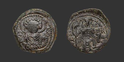 Odysseus Numismatique Monnaies Byzantines EMPIRE DE NICÉE - JEAN III DUCAS VATATZÈS • Tétartéron