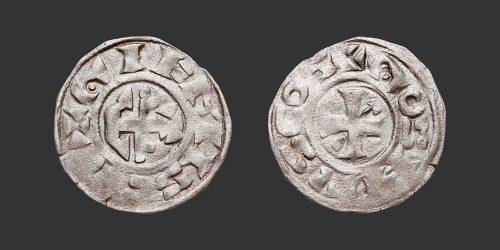 Odysseus Numismatique Monnaies Féodales GIEN - GEOFFROI III DE DONZY • Denier