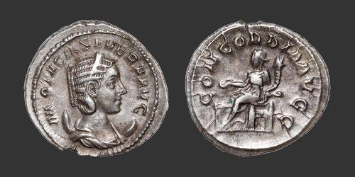 Odysseus Numismatique Monnaies Romaines OTACILIA SEVERA • Antoninien