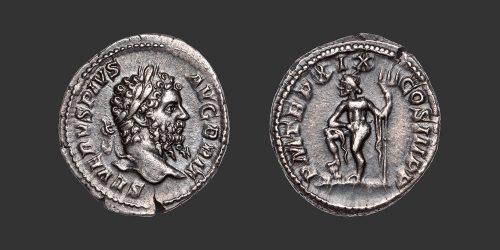Odysseus Numismatique Monnaies Romaines SEPTIME SÉVÈRE • Denier