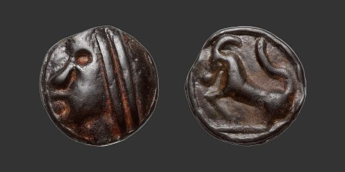 Odysseus Numismatique Monnaies Gauloises SÉQUANES • Potin
