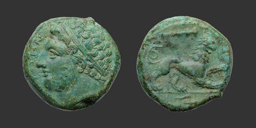 Odysseus Numismatique Monnaies Grecques SICILE - SYRACUSE - AGATHOCLÈS • Bronze