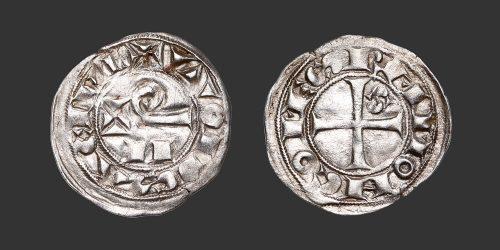Odysseus Numismatique Monnaies Féodales TOULOUSE - RAYMOND V, VI & VII • Denier