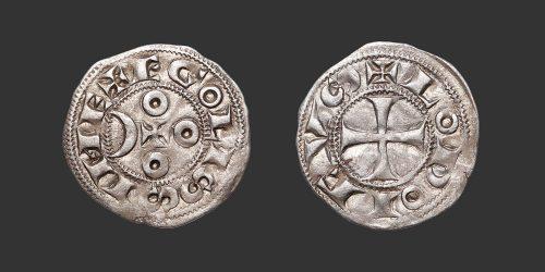 Odysseus Numismatique Monnaies Féodales ANGOULÊME - AU NOM DE LOUIS • Denier