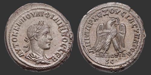 Odysseus Numismatique Monnaies Romaines Coloniales ANTIOCHE - PHILIPPE II • Tétradrachme