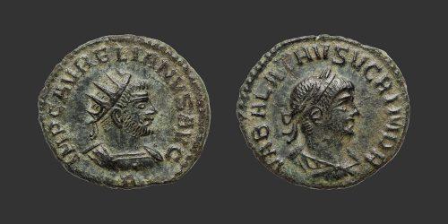 Odysseus Numismatique Monnaies Romaines AURÉLIEN & VABALLATH • Antoninien