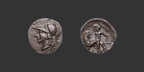 Odysseus Numismatique Monnaies Grecques CALABRE - TARENTE • Diobole