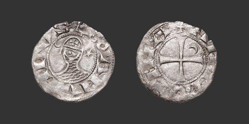 Odysseus Numismatique Monnaies Orient Latin CROISADES - ANTIOCHE - BOHÉMOND III • Denier