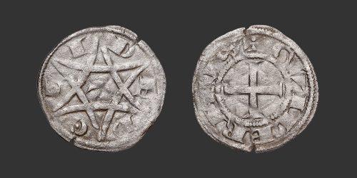 Odysseus Numismatique Monnaies Féodales DÉOLS - GUILLAUME Ier DE CHAUVIGNY • Denier