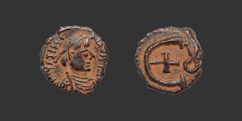 Odysseus Numismatique Monnaies Byzantines EMPIRE BYZANTIN - JUSTINIEN Ier • Pentanummium