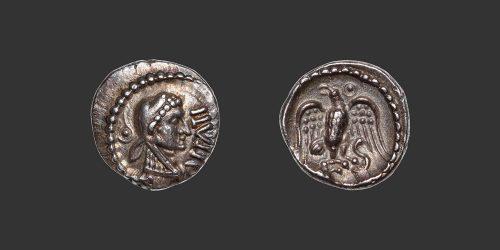 Odysseus Numismatique Monnaies Gauloises GRANDE-BRETAGNE - ATRÉBATES - ÉPATICCUS • Quinaire