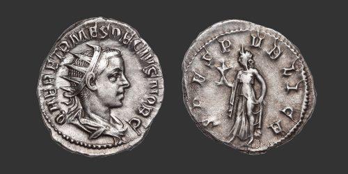 Odysseus Numismatique Monnaies Romaines HERENNIUS ETRUSCUS • Antoninien