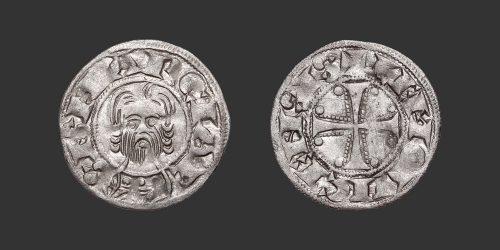 Odysseus Numismatique Monnaies Féodales LIMOGES - ABBAYE DE SAINT-MARTIAL • Denier