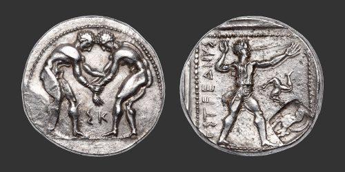 Odysseus Numismatique Monnaies Grecques PAMPHYLIE - ASPENDOS • Statère