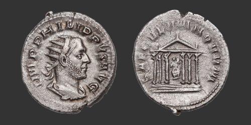 Odysseus Numismatique Monnaies Romaines PHILIPPE Ier L'ARABE • Antoninien
