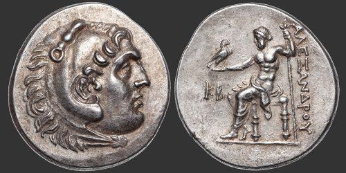 Odysseus Numismatique Monnaies Grecques ROYAUME DE MACÉDOINE - ALEXANDRE III LE GRAND • Tétradrachme