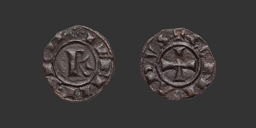 Odysseus Numismatique Monnaies Féodales ROYAUME DE SICILE - CONRAD Ier • Denier