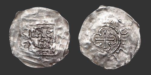 Odysseus Numismatique Monnaies Féodales SUISSE - BÂLE - ADALBERO II • Pfennig