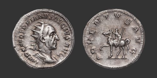 Odysseus Numismatique Monnaies Romaines TRAJAN DÈCE • Antoninien