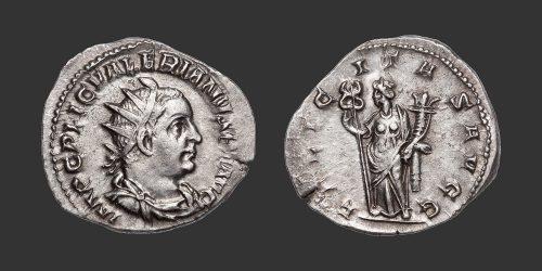 Odysseus Numismatique Monnaies Romaines VALÉRIEN Ier • Antoninien